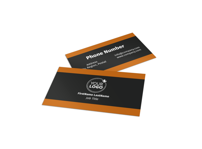 Clean Energy Consulting Business Card Template Preview 1