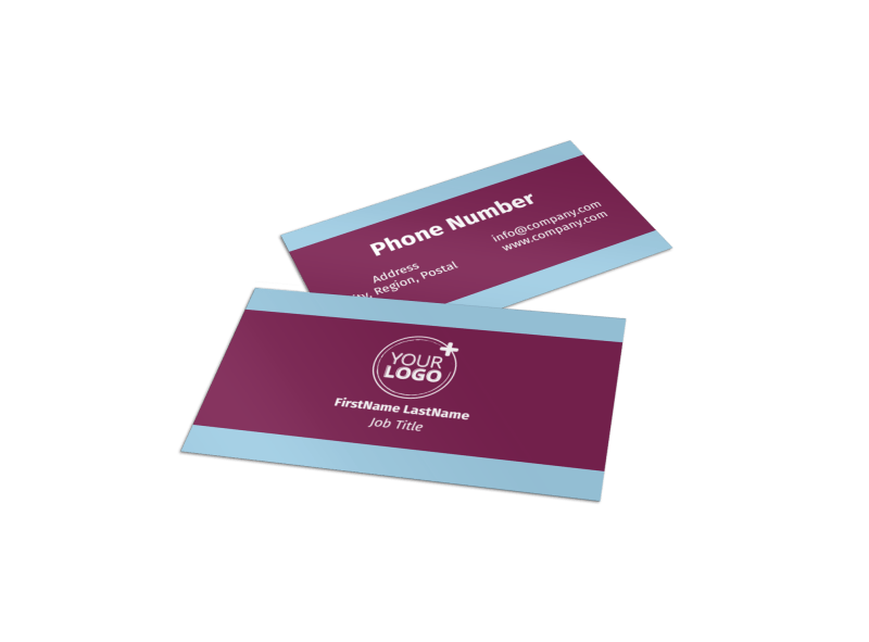 Party Transportation Business Card Template Preview 1