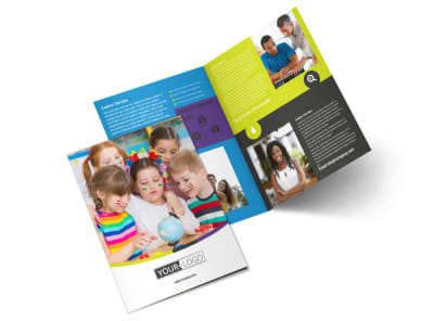 Speech Therapy Bi-Fold Brochure Template 2