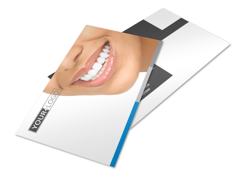 Dentistry & Dental Office Postcard Template 2