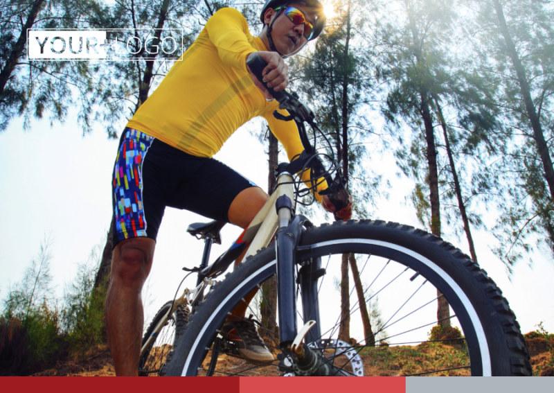 Bike Repair Shop Postcard Template Preview 2