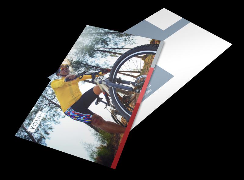 Bike Repair Shop Postcard Template Preview 1