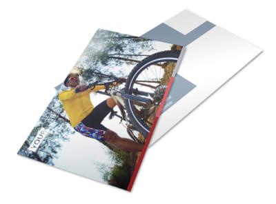 Bike Repair Shop Postcard Template 2 preview