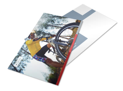 Bike Repair Shop Postcard Template 2 preview