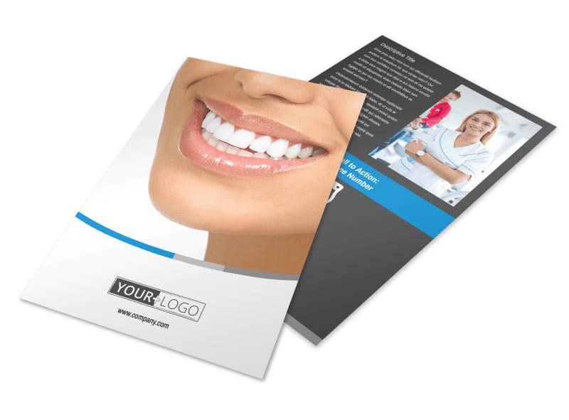 Dentistry & Dental Office Flyer Template 3