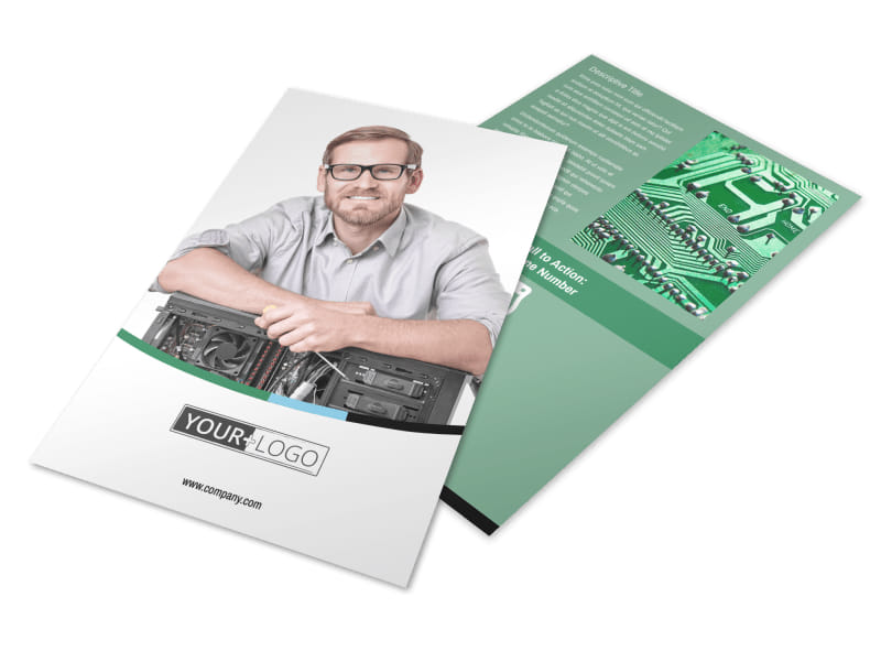 Computer Repair Flyer Template 3
