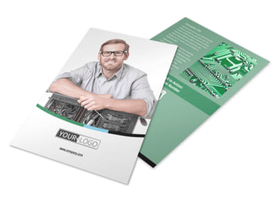 Computer Repair Flyer Template 3 preview