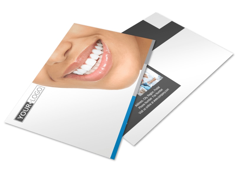 Clean Dental Care Postcard Template Preview 4
