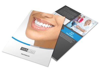 Dentistry & Dental Office Flyer Template preview