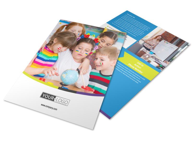 Language Learning Service Flyer Template Preview 4