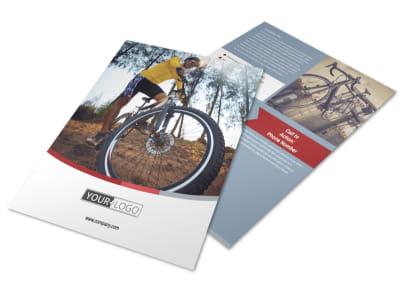 Bike Repair Shop Flyer Template