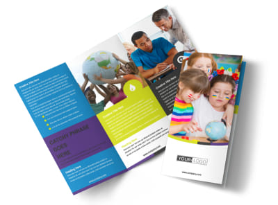 Speech Therapy Tri-Fold Brochure Template