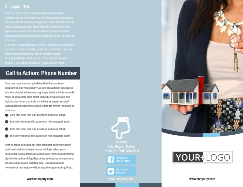 Reliable Property Management Brochure Template Preview 2