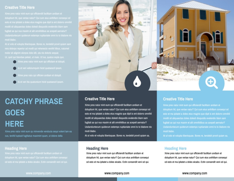 Reliable Property Management Brochure Template Preview 3