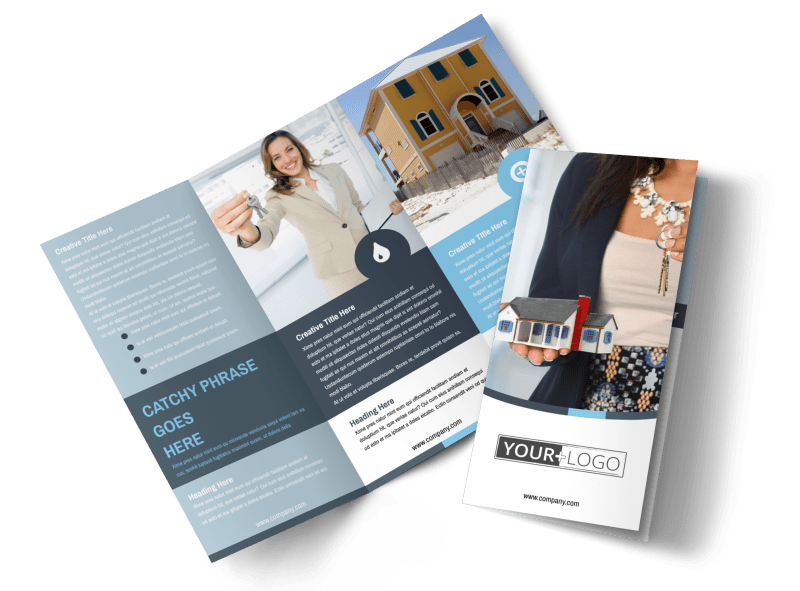 Reliable Property Management Brochure Template Preview 1