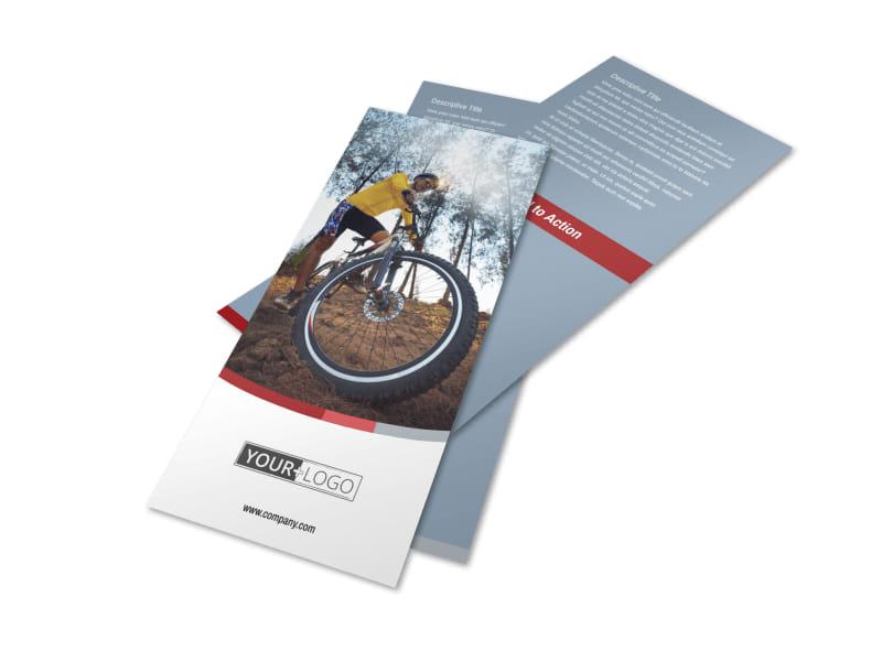 Bike Repair Shop Flyer Template 2