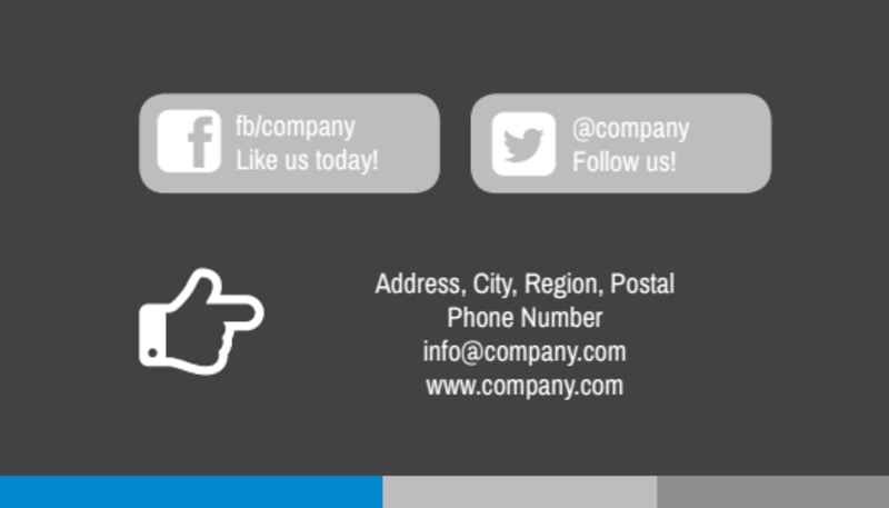 Clean Dental Care Business Card Template Preview 3