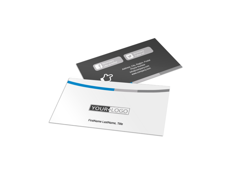 Clean Dental Care Business Card Template Preview 1
