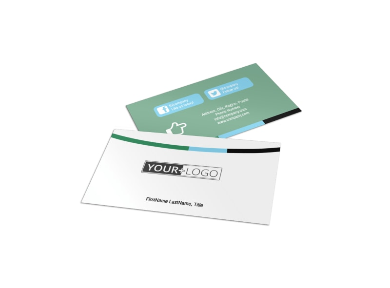 Computer repair shop business card template mycreativeshop computer repair business card template wajeb Image collections