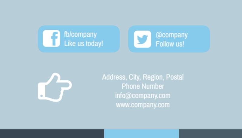 Reliable Property Management Business Card Template Preview 3