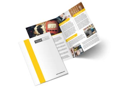 Electrician Bi-Fold Brochure Template 2
