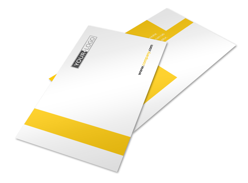 Electrician Postcard Template Preview 1