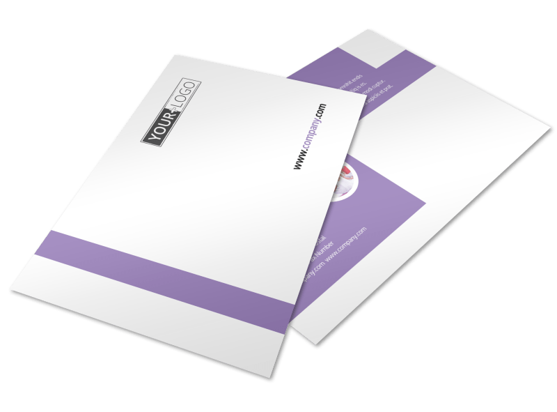 Yoga Studio Postcard Template Preview 1