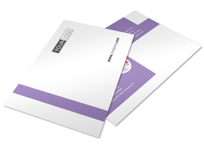 Yoga Studio Postcard Template Preview 4