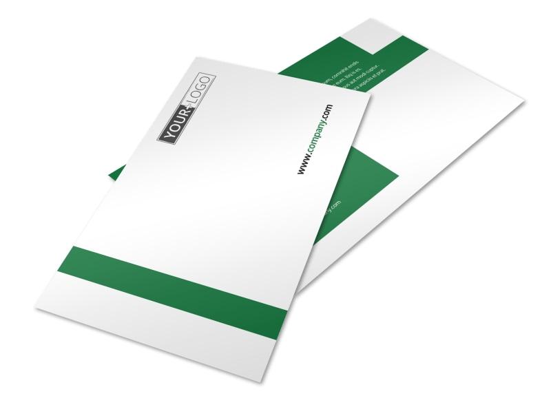 Solar Energy Company Postcard Template
