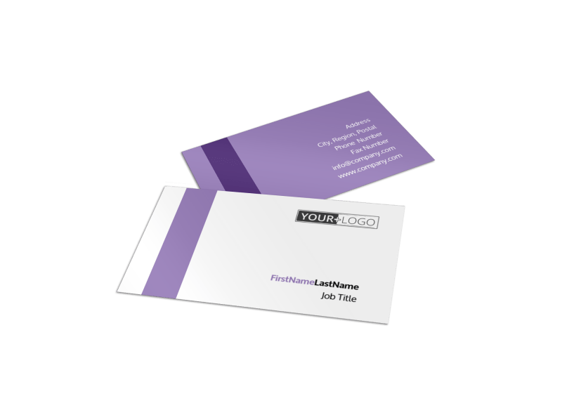 Yoga Studio Business Card Template Preview 1