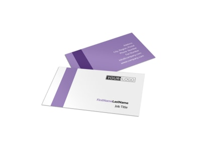 Pilates & Yoga Business Card Template