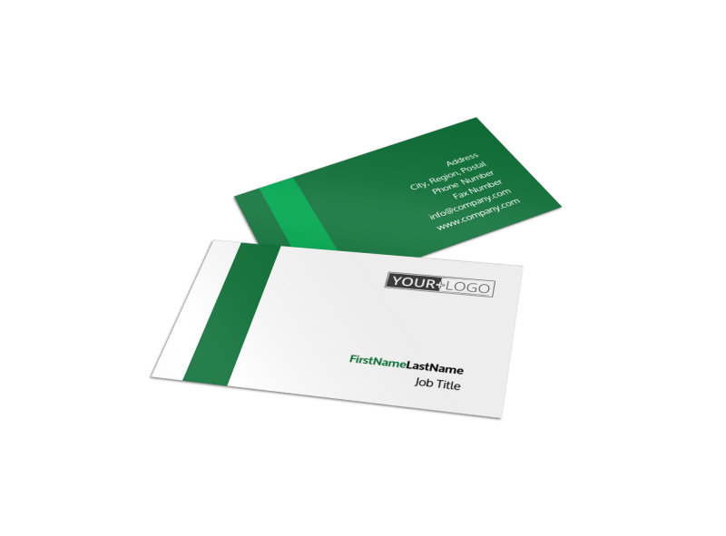 Greenhouse Business Card Template Preview 1
