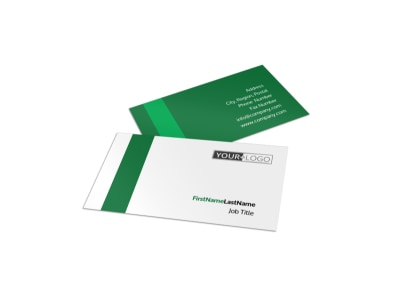 Greenhouse Business Card Template preview