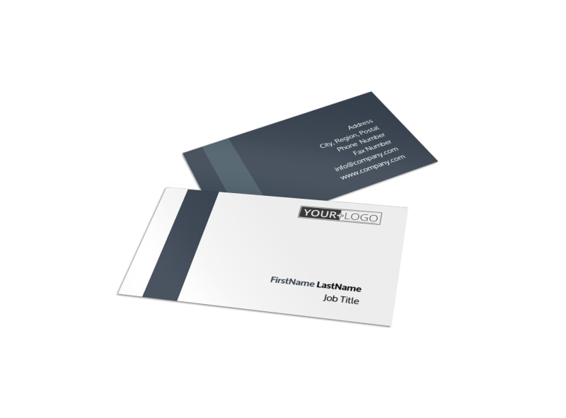 Chemistry Screening Library Business Card Template | Mycreativeshop