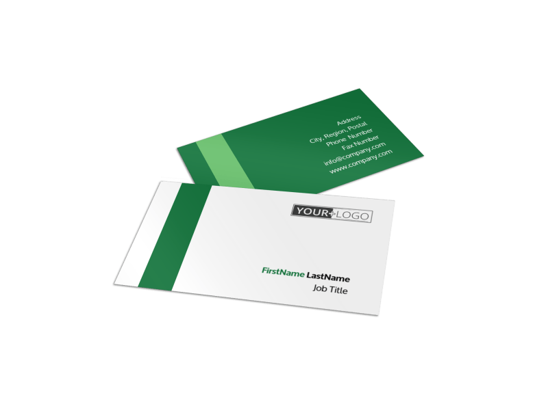Solar Energy Company Business Card Template Preview 1
