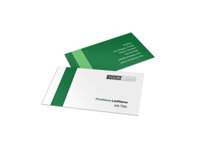 Solar Energy Company Business Card Template preview