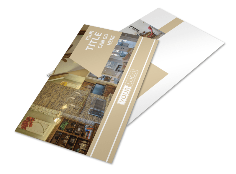 Interior Design Postcard Template Preview 1