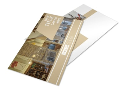 Interior Design Postcard Template 2 preview