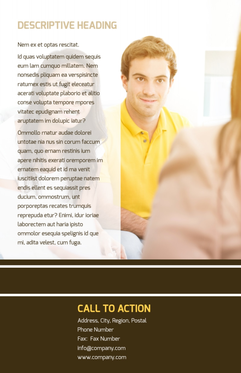 Insurance Agency Flyer Template Preview 3
