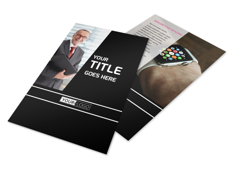 Intellectual Property Firm Flyer Template 3