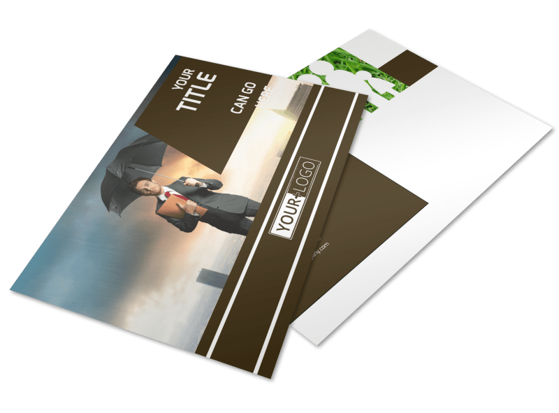 Insurance Agency Postcard Template Preview 1