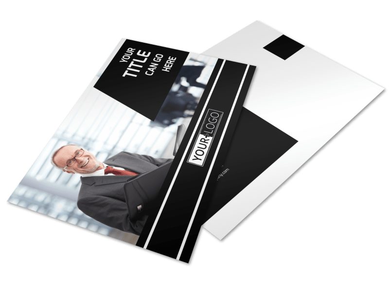 Intellectual Property Firm Postcard Template Preview 1