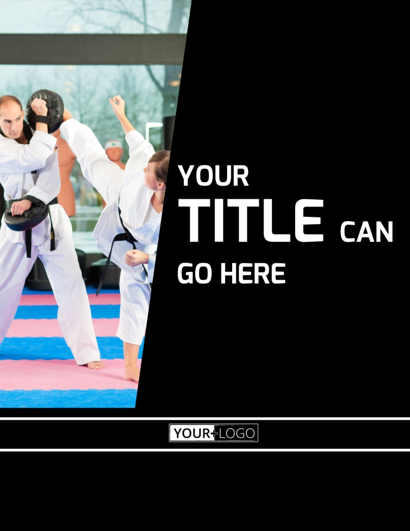 Martial Arts Flyer Template Preview 2