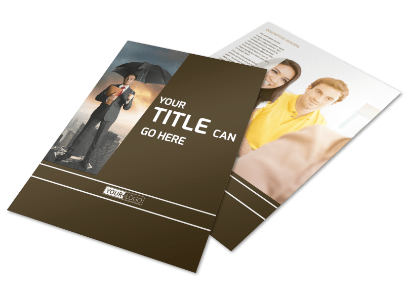 Insurance Agency Flyer Template Preview 1