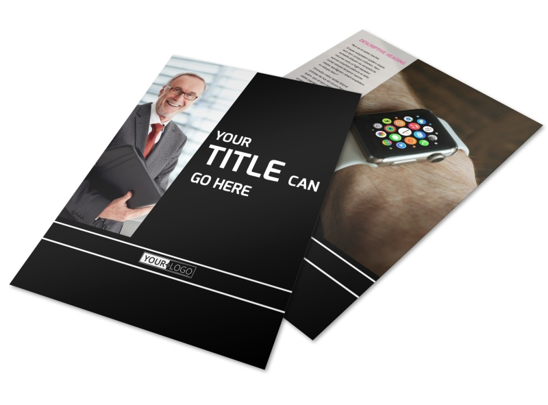Intellectual Property Firm Flyer Template