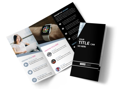 Intellectual Property Firm Tri-Fold Brochure Template
