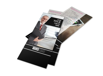 Intellectual Property Firm Flyer Template 2
