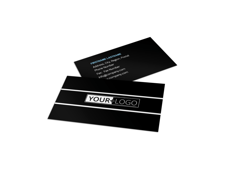 Martial Arts Business Card Template Preview 1