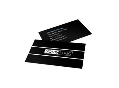 Martial Arts Business Card Template preview