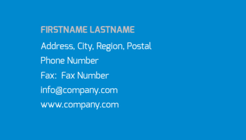 Online Marketing Agency Business Card Template Preview 3